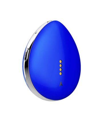 Pendentif collier GPS micro espion bleu