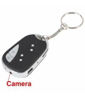 Cle de voiture camera espion HD Vue Face