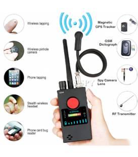 Mini détecteur de caméra espion – Localisateur GPS magnétique – Traqueur de bogue