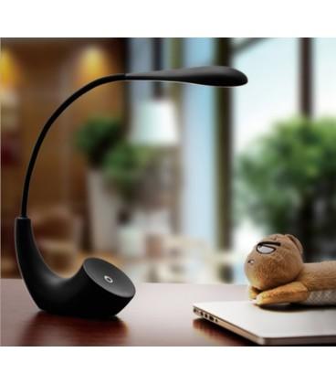 Lampe de bureau camera espion Wi-Fi Full HD