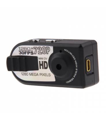 Mini Caméra HD Rectangulaire Vue Face