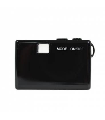 Mini Camera HD Noire Vue Dos