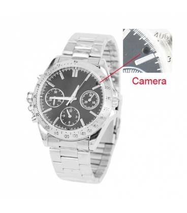 Montre Camera Espion 4GB Etanche Vue Face