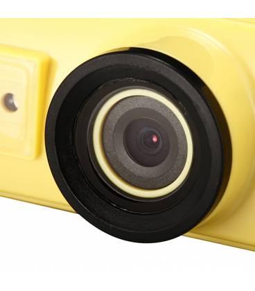 Lunettes de Plongée Caméra HD Vue Zoom Jaune