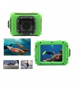 Mini Caméra Action Waterproof Ecran 2.0 Pouces Super HD WiFi Vue Multiple