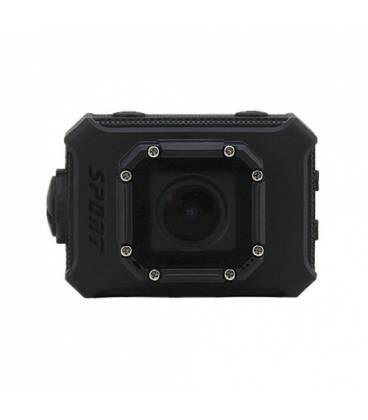 Mini Caméra Action Action Waterproof Ecran 2.0 pouces Super HD WiFi Vue Face Noire