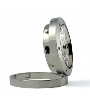 Horloge de table Caméra Espion Vue de Côté
