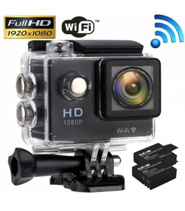 1080P 2.0 WiFi Plongee 30M Action Camera étanche Sport DV Video Camescope