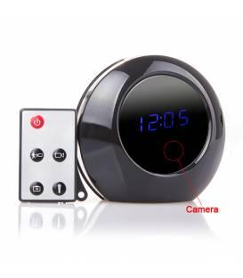 Horloge Caméra Espion HD Télécommande Vue Face