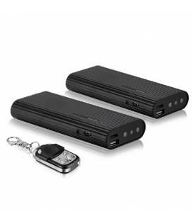 Power bank 3000mAh Full HD camera espion et sa telecommande