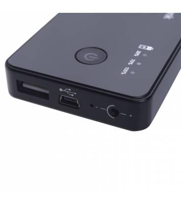 Mini Power Bank Caméra Espion 3000mAh HD Vue Détaillée