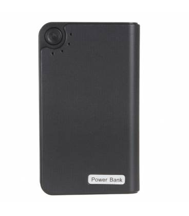 Power bank 2000mAh noir Full HD camera espion