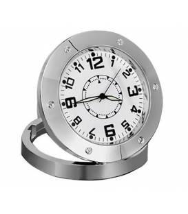 Horloge de table Caméra Espion Vue de Face