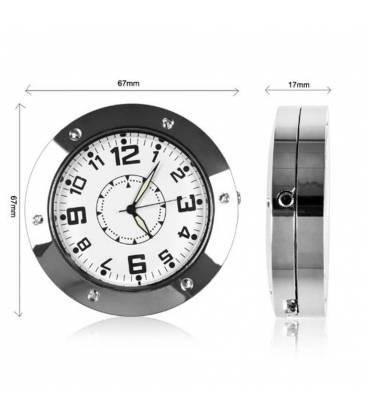 Horloge de table Caméra Espion Vue Zoom