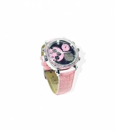 Montre Camera Espion Femme Full HD 32GB Rose Vision Nocturne Vue Face