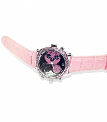 Montre Camera Espion Femme Full HD 32GB Rose Vision Nocturne Vue Large