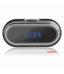 Réveil caméra Espion Full HD - télécommande et détecteur de mouvements
