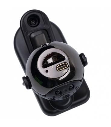 Mini camera de surveillance full HD detecteur thermique