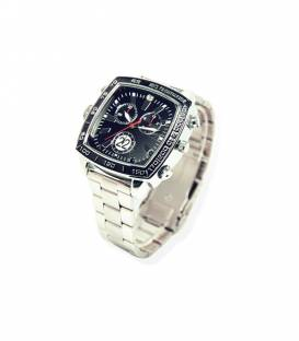 Montre Camera Espion Full HD 8GB Carree Vision Nocturne Vue Face