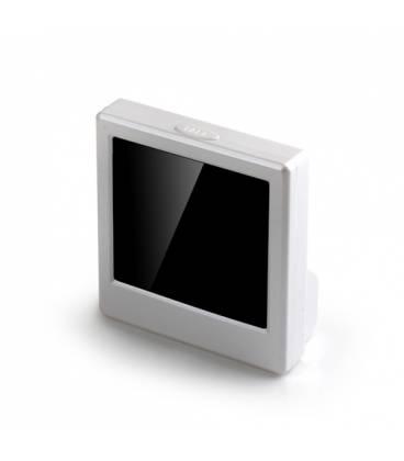 Reveil Camera Espion Carre Full HD Vue côté Gauche