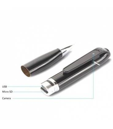 Stylo espion camera Full HD Wifi