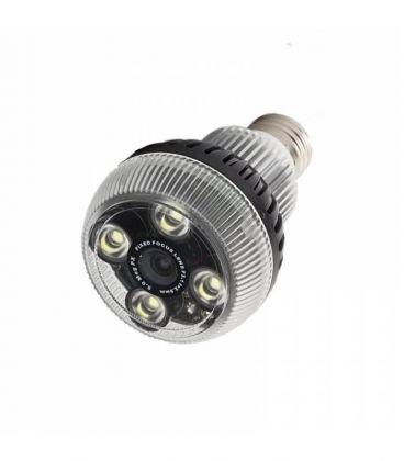 Ampoule caméra espion Wi-Fi Full HD avec application dédiée