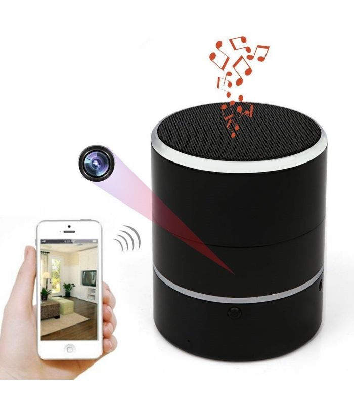 enceinte bluetooth wifi camera full hd. Black Bedroom Furniture Sets. Home Design Ideas