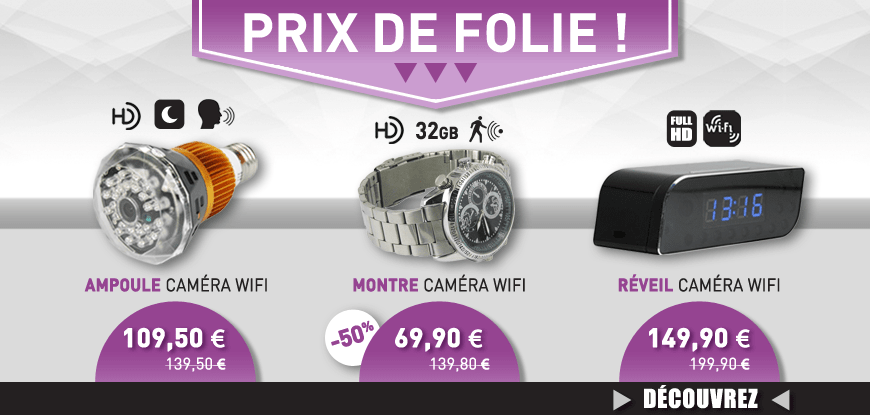 Boutique Espion promotion et deals